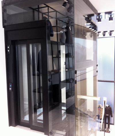 bespoke shop lift