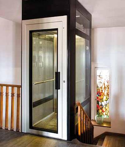 glass residential lift