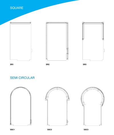 bespoke glass lift dimensions