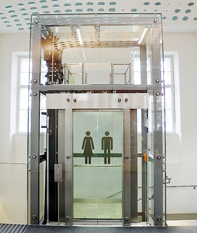 shop glass lift