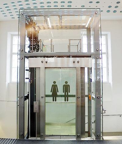 shop glass lift