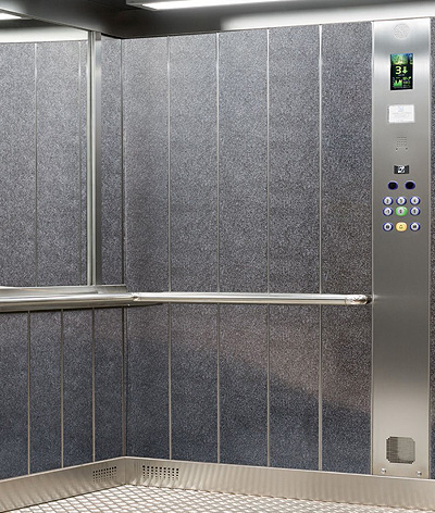 public lift interior