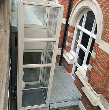 Platform Lift Installations at Croydon Town Hall