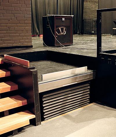 recessed bespoke platform lift