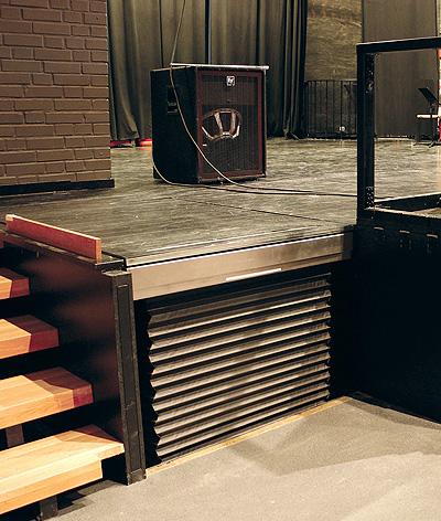 recessed bespoke platform lifts