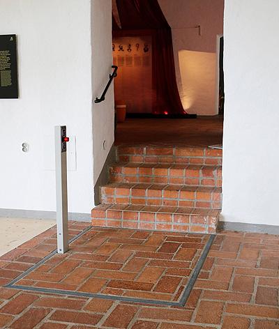 hidden platform lifts