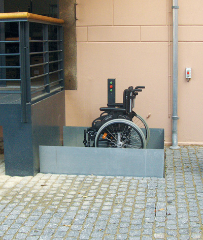 bespoke recessed platform lifts