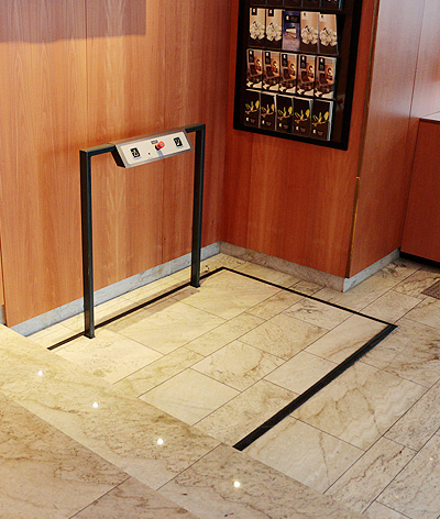 bespoke hidden platform lifts