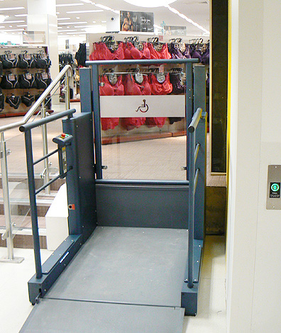 platform lifts in london