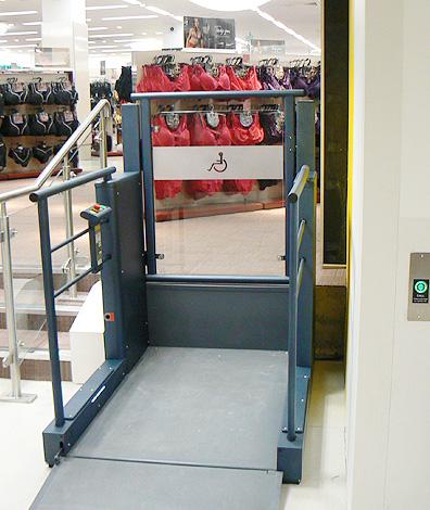 platform lifts in london