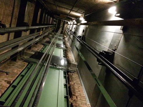 car park lift shaft