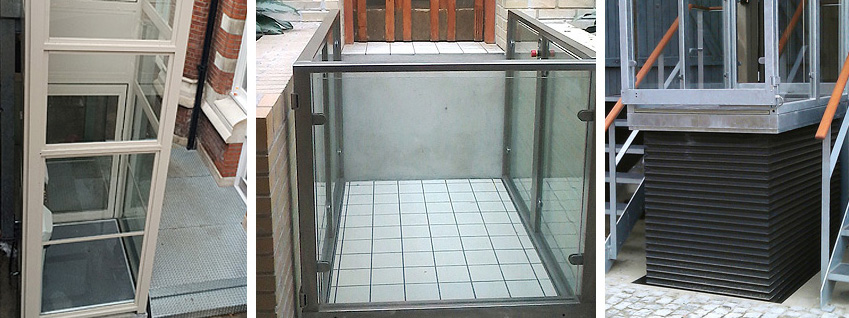 Screw Driven Platform Lift
