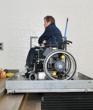 Screw Driven Platform Lifts