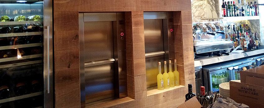 Electric Service Lift Zheng Restaurant