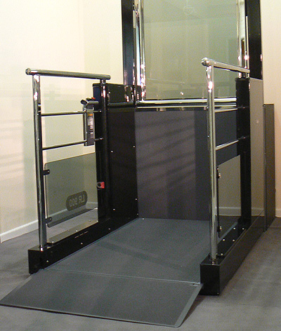 seeking advice on installing a wheelchair platform lift in. Black Bedroom Furniture Sets. Home Design Ideas