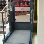 Wheelchair platform lift in Bedfordshire