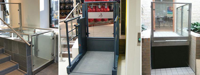 Wheelchair platform lift in Cambridge
