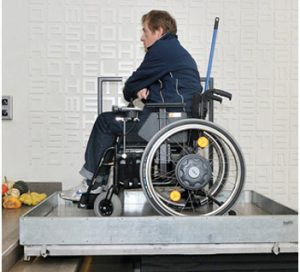 Screw Driven Platform Lift JD Sports Chester