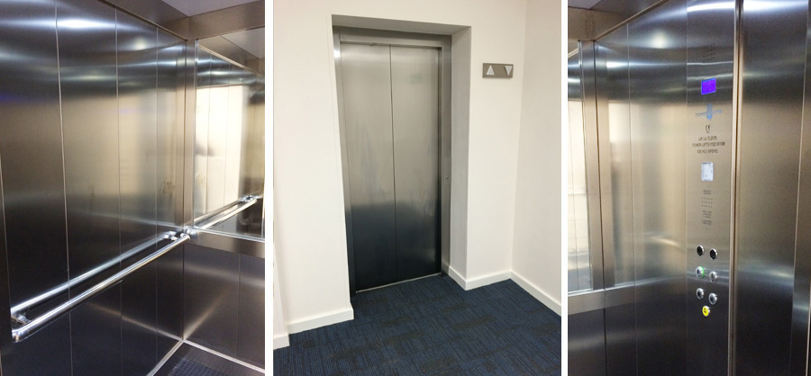 Passenger lift services in Stevenage