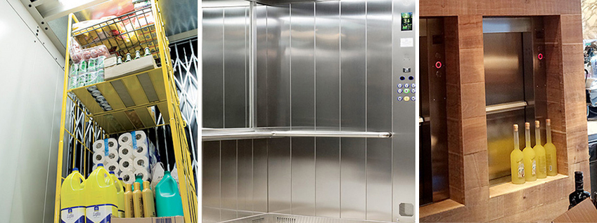 Commercial goods lifts for Kent