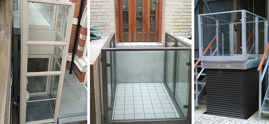 External wheelchair lifts for Essex