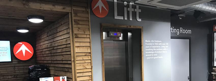 Passenger Lift Services in Watford Banner