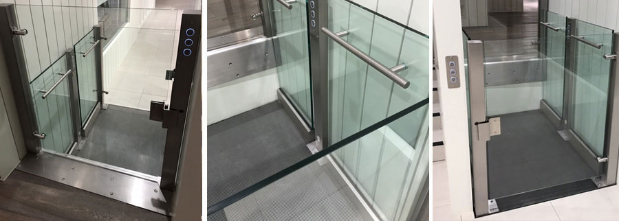 Platform Lift for JD Gym, Sunderland