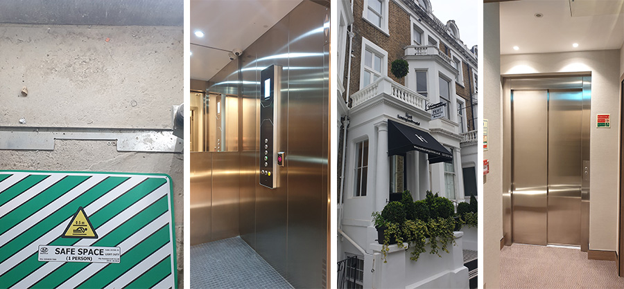 Passenger Lift Installation london hotel
