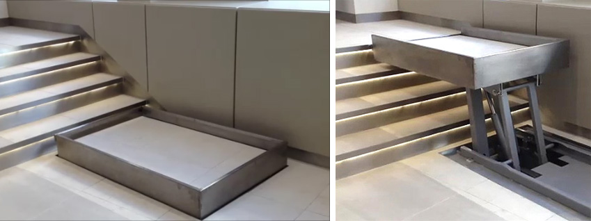 Invisible Wheelchair Lifts