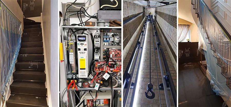 Passenger Lift Installation regents park london
