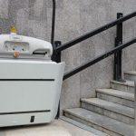 external wheelchair platform lifts