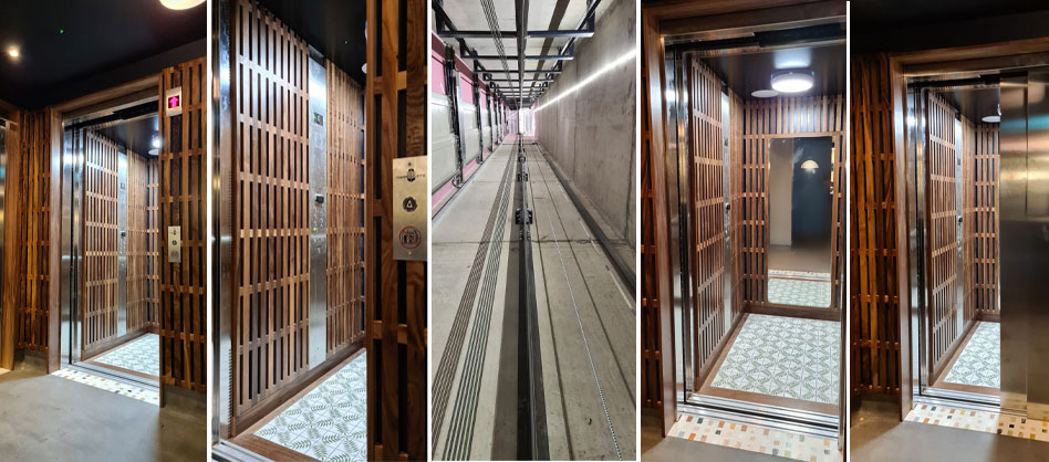 2 Passenger Lifts for London Hotel