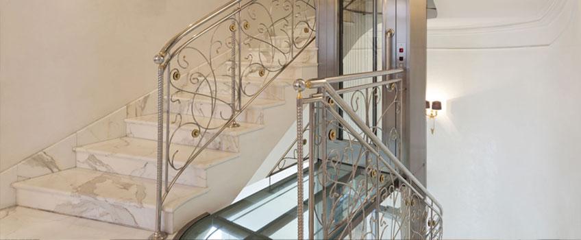 Glass Residential Elevators