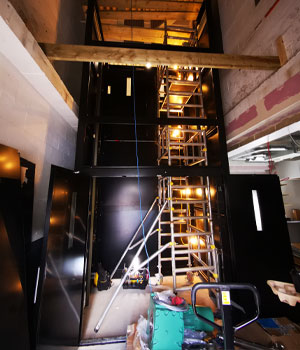 goods lift design and installation